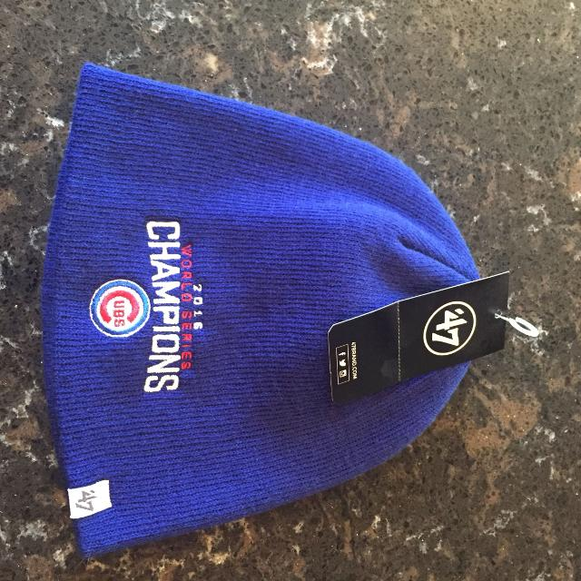 Find more Cubs Beanie Stocking Hat Mlb World Series Champion Hat New ... 6d8b704781b
