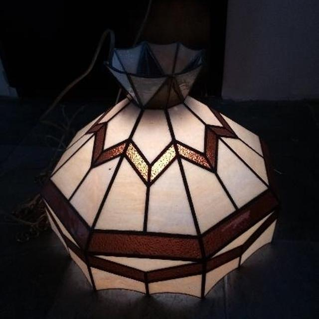 Best Hanging Stained Glass Light. for sale in Wyoming, Michigan for 2018