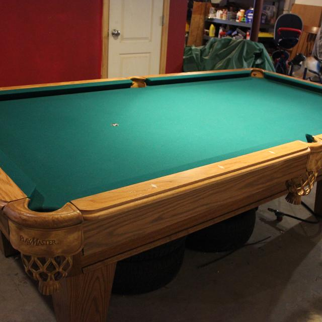 Find More Ft Slate Amf Playmaster Pool Table For Sale At Up To - Playmaster pool table