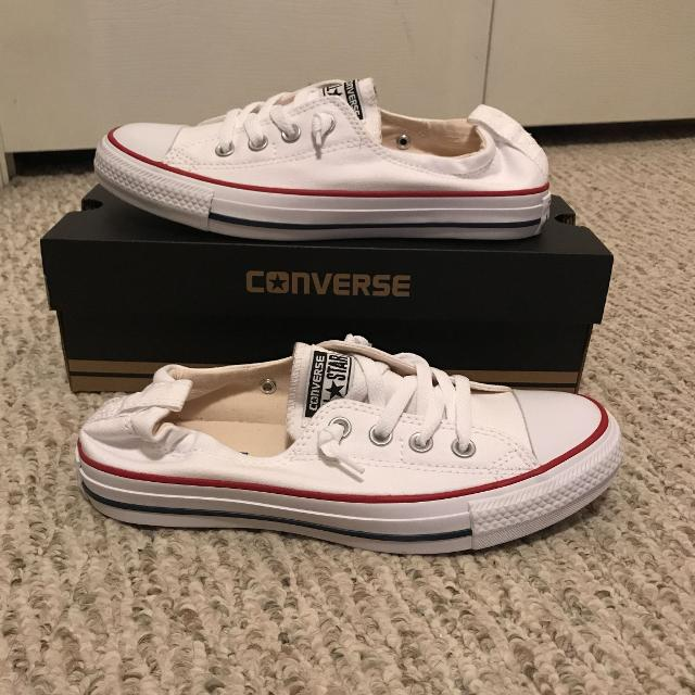 "b513c4b314f6 Find more New Converse Chuck Taylor "" Shoreline"" Slip On White Shoes ..."
