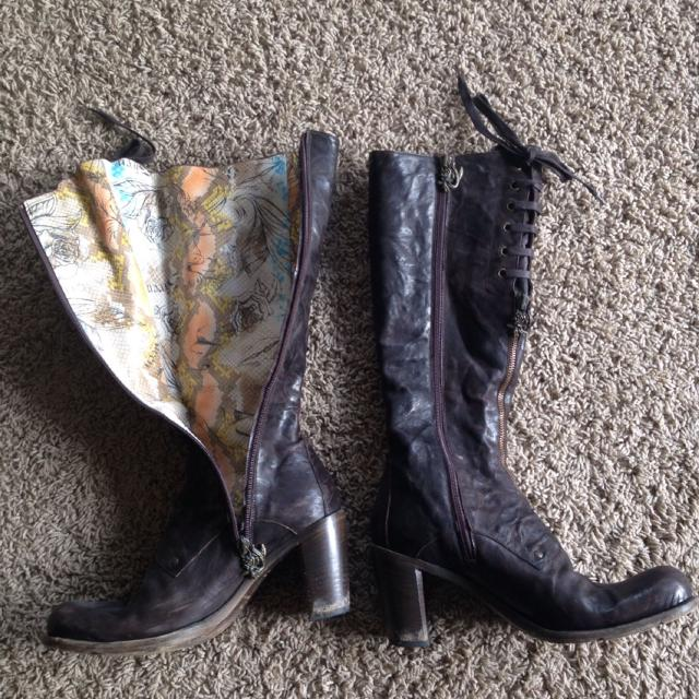 897ac19f620 Mark Nason - Siren size 8 brown knee high boots. Good condition. Originally  $300.00 selling for $100. Made in Italy REDUCED TO $90!!!