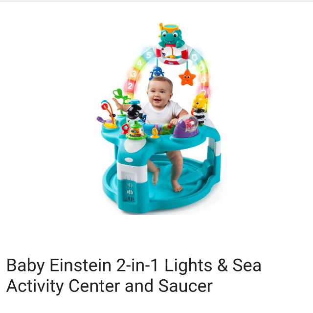 7fc7347ed Best Baby Einstein Activity Center And Saucer for sale in Vacaville ...