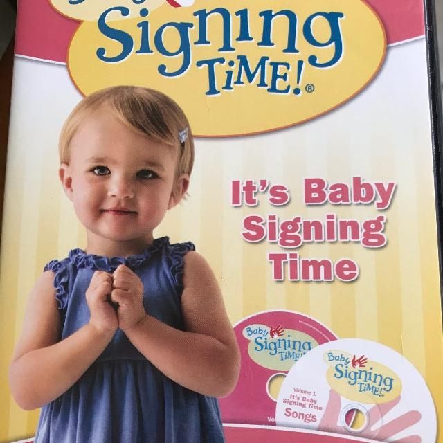 Find More Baby Signing Time 1 Its Baby Signing Time For Sale At Up