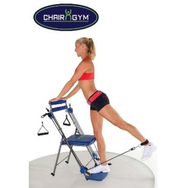 As Seen On Tv Chair Gym Total Body Workout Blue