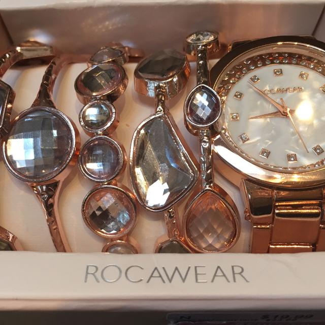 Find More Bnib Rocawear Rose Gold Watch And Bracelet Set Fabulous