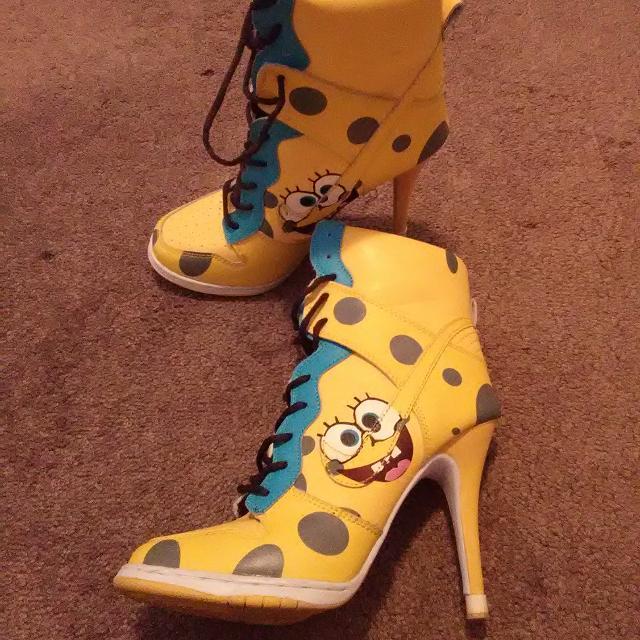 best nike spongebob heel boots for sale in milwaukee wisconsin for 2018