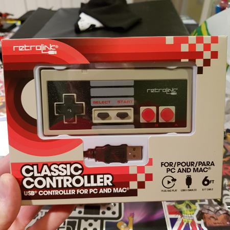 Classic NES Controller For PC and Mac, used for sale  Canada