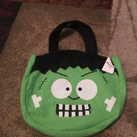 Frankenstein Halloween bag - ppu(near old chemstrand & 29) or PU at the