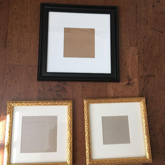 Find more Square Frames. Black Wall 5x5 $2, Gold Left Easel 5x5 $3 ...