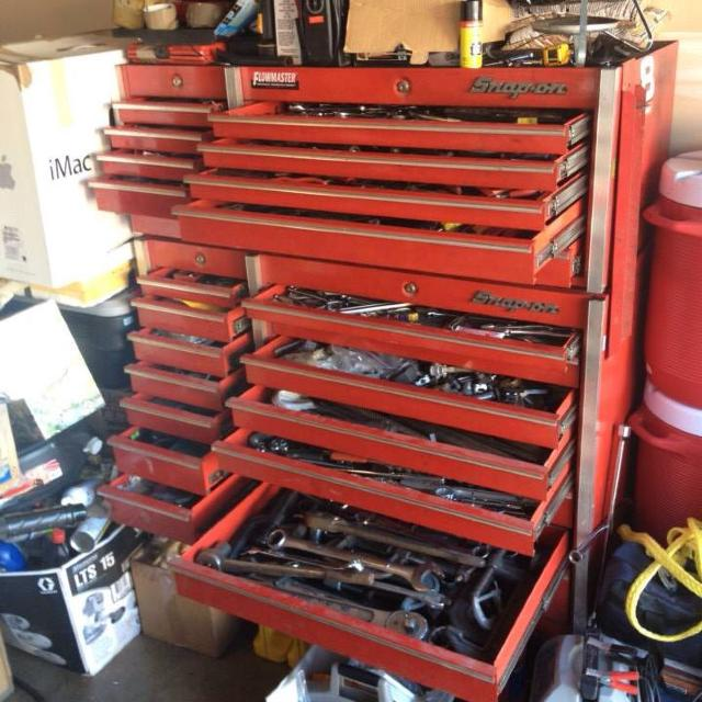 best snap-on tool box full of snap-on tools for sale in columbus ...