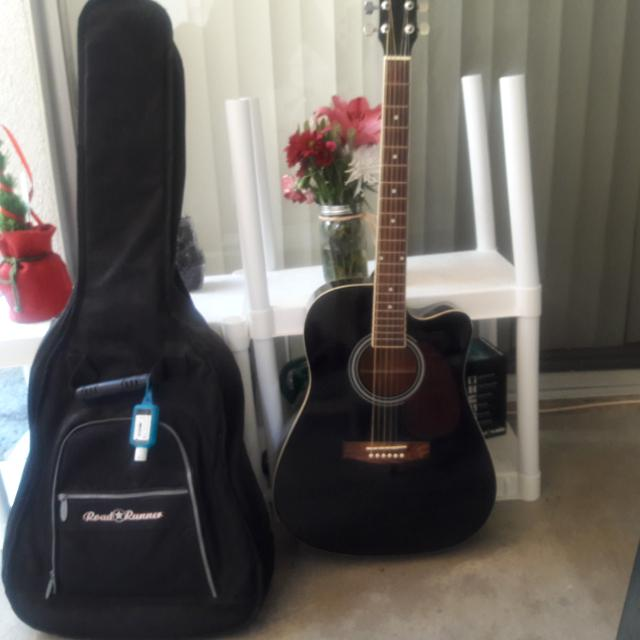 0dbc4c42b5 Best Spectrum Acoustic Guitar With Case for sale in Pasadena, California  for 2019