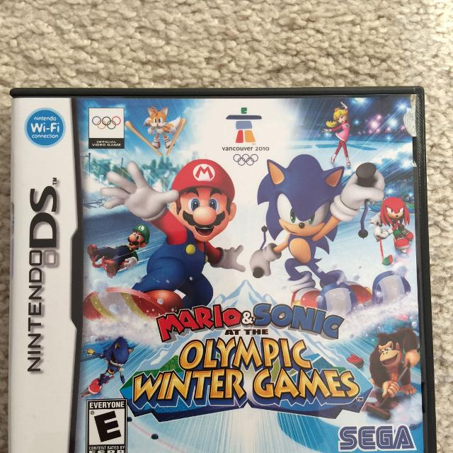 Nintendo DS Game - Mario & Sonic at the Olympic Winter Games