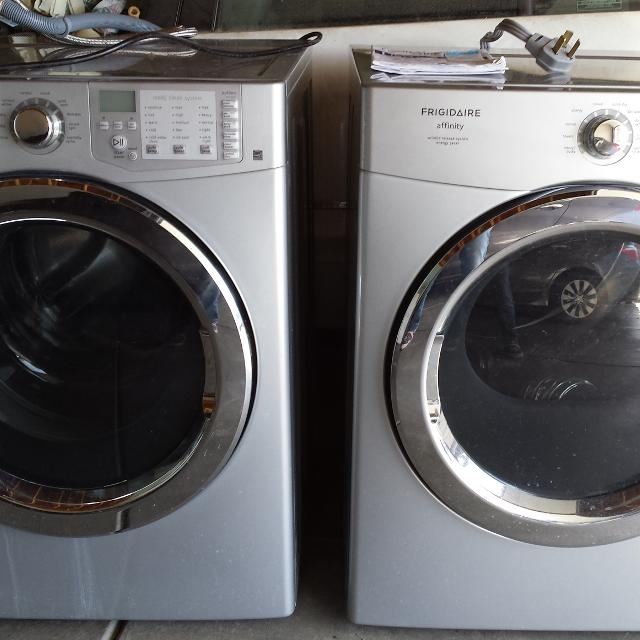 Best Set Frigidaire Affinity Front Load Washer Dryer For Sale In Parker Colorado For 2020