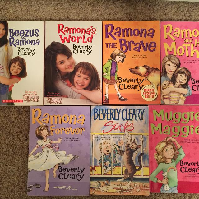 8 Beverly Cleary