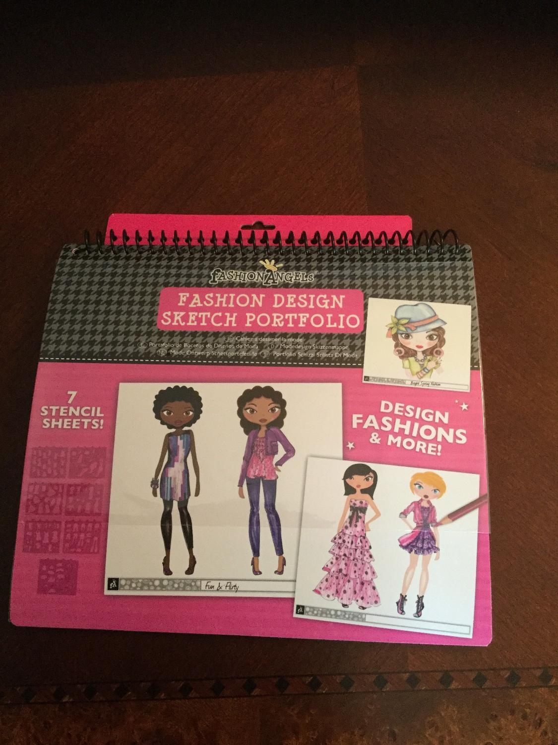 Find More Just Lowered Price Fashion Angels Stencil Set And Sketch Portfolio New And Unopened For Sale At Up To 90 Off