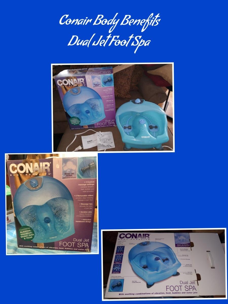Best Gently Used - Conair Body Benefits Dual Jet Foot Spa for sale ...
