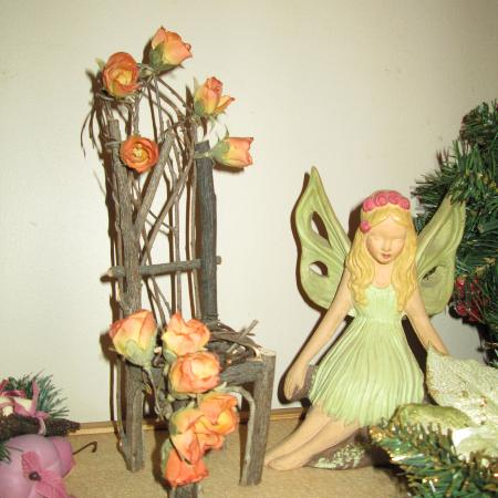 11' Hand Crafted 'Garden Fairy/Porch..., used for sale  Canada