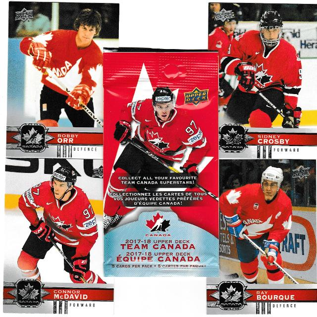 Best 2017 18 Canadian Tire 100 Hockey Cards Set For Sale In Dollard