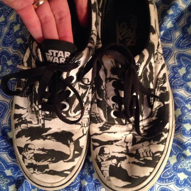 Find more Euc Limited Edition Star Wars Storm Troopers Vans Size ... d411dccc3