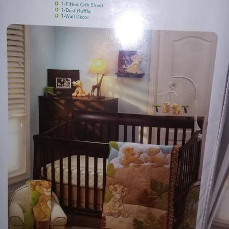 Lion King Crib Set