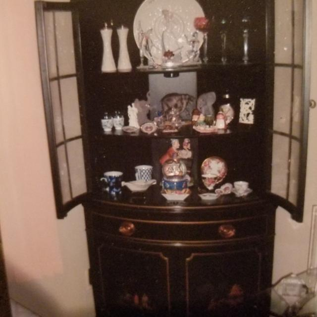 Best Indoor Garage Sale Gorgeous Antique Curio Cabinet For Sale In