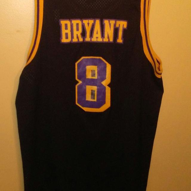 Best Nike Kobe Bryant Los Angeles Lakers 8 Black Retro Jersey Xxl ...