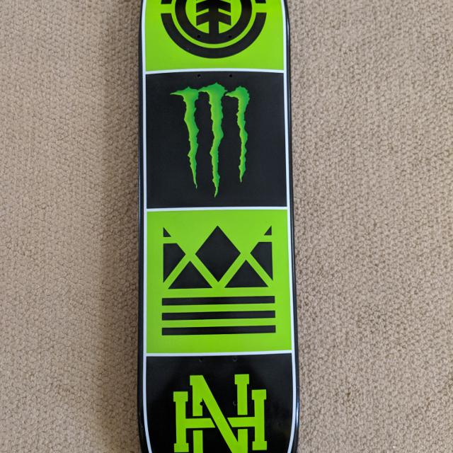 b0ee1222 Best Element Brand - Nyjah Houston & Monster Energy Collab. Skateboard Deck  for sale in Decatur, Alabama for 2019