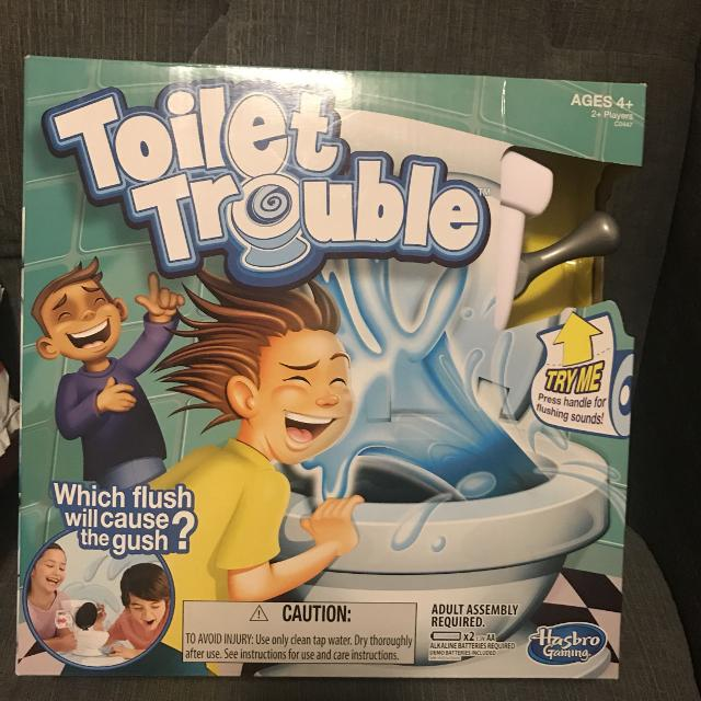 Find More Toilet Trouble Game For Sale At Up To 90 Off