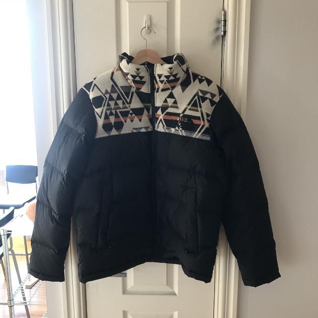 Best Northface X Pendleton Nuptse Jacket Size L for sale in Montréal ... f06e43b527d2