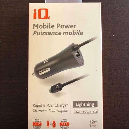 IQ Mobile Power Rapid in Car Changer for sale  Canada