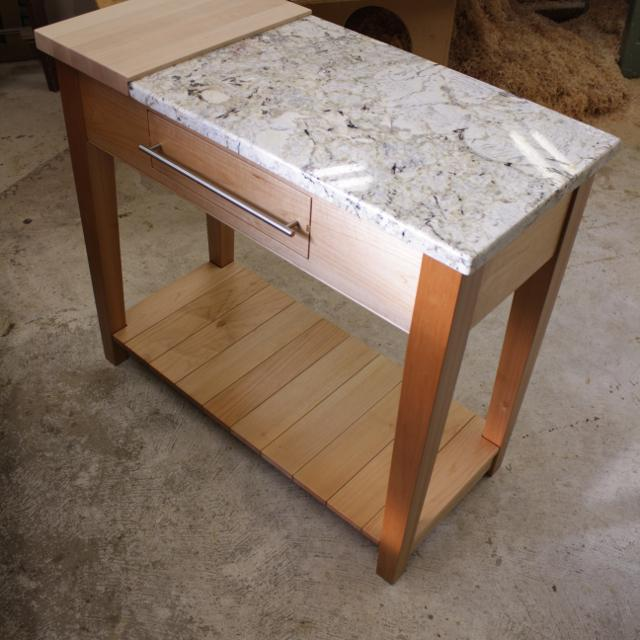 Custom Kitchen Island For Sale: Find More Custom Kitchen Island. Solid Maple And Granite