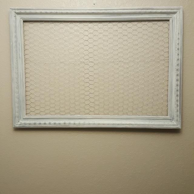 Find more Large Picture Frame With Chicken Wire for sale at up to 90 ...