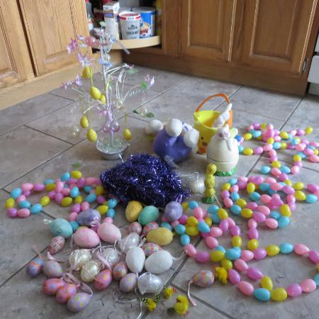 variety of easter stuff, used for sale  Canada