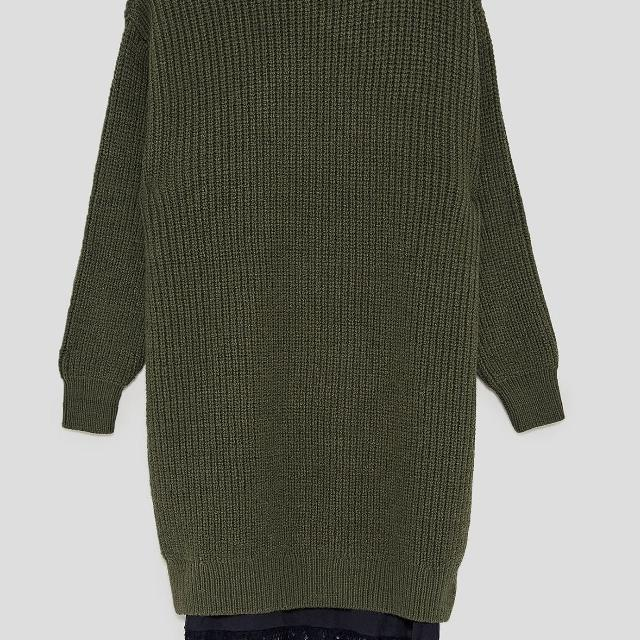 31a1f9f3 Best Price Drop Zara Sweater Dress Army Green (med) for sale in Dollard-Des  Ormeaux, Quebec for 2019