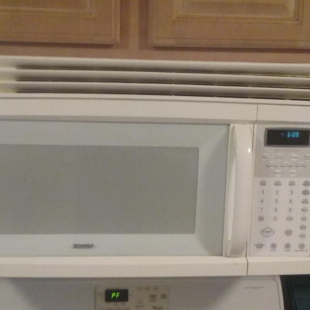30 kenmore above range microwave