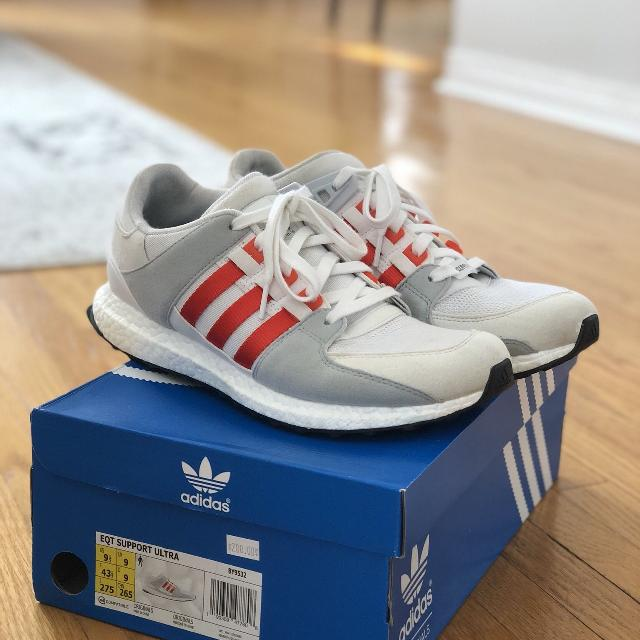 beb614965b0 Find more Adidas Eqt Support Ultra Boost 9.5 for sale at up to 90% off