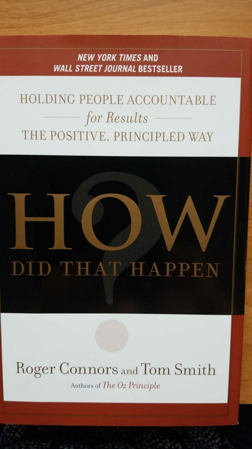 Find more How Did That Happen, By Roger Connors And Tom Smith for sale at  up to 90% off