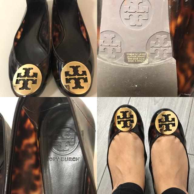 3428d45413c Find more Authentic Tory Burch Reva Flats Shoes Women s Size 7 for ...