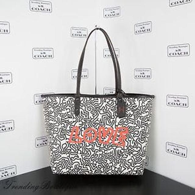 adf0a10db95a Find more Coach Tote Bag - Keith Haring Collection- New for sale at ...