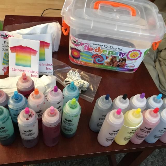 a65dbf2adb68 Find more Tie Dye Party Kit Brand Tulip - Used Once for sale at up ...