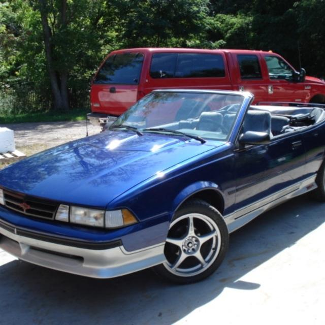 Best 1989 Chevy Cavalier Z24 Convertible For In Ladysmith Wisconsin 2019