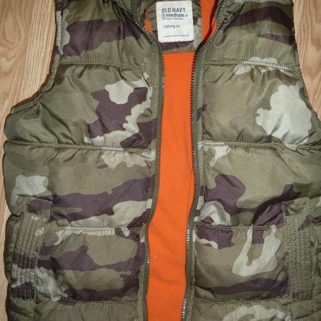 083cdaaf5b83d Best Puffer Vest Camo Boys Age 10-12 for sale in Victoria