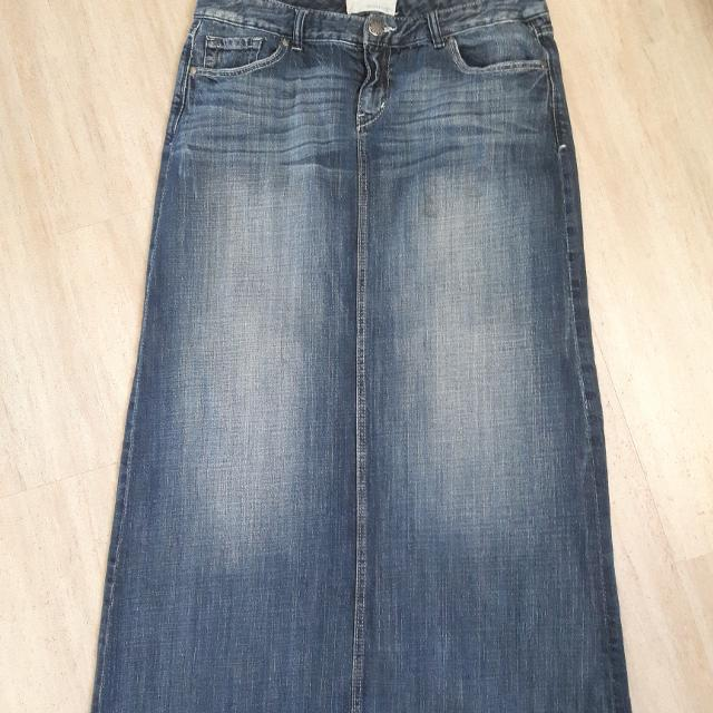 188396bae9 Find more Maurices Long Denim Skirt for sale at up to 90% off
