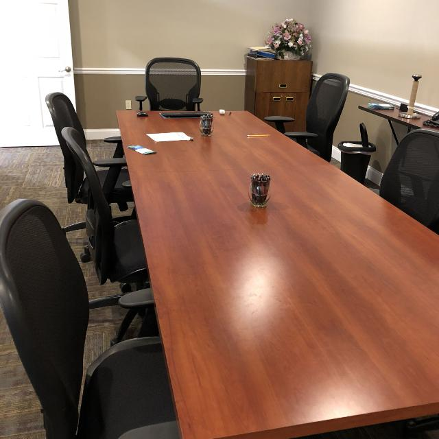 Best Foot Conference Table W Chairs For Sale In Philadelphia - 8 foot conference table and chairs