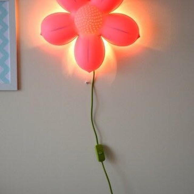 Find More Selling Pink Ikea Wall Flower Lamplight For Sale At Up To