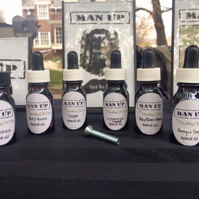 Locally made Organic Beard Oil with Essential Oils Homemade