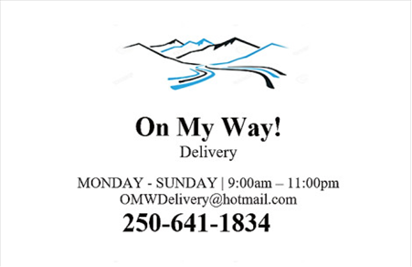 On My Way Delivery In Thornhill Terrace British Columbia