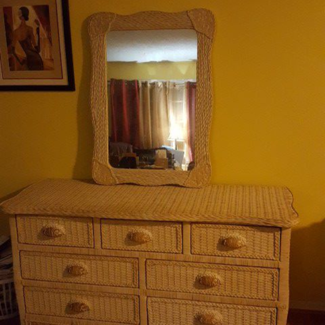 Pier 1 Imports Jamaica Collection Dresser And Mirror