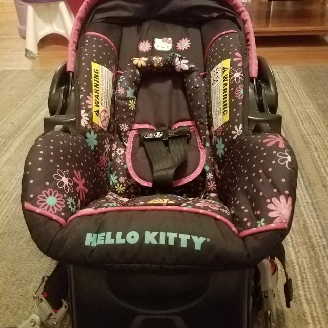 Baby Trend Hello Kitty Infant Car Seat And Base