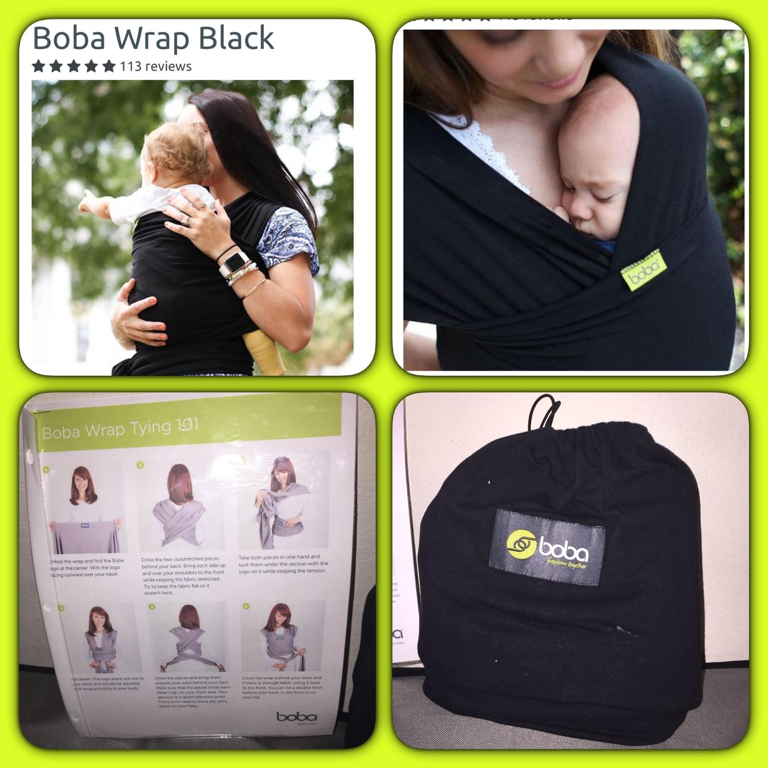 Boba Wrap Black Guc